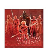 Star Wars 8 The Last Jedi Lunch Napkins, 16-pk