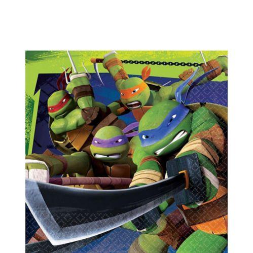 Serviettes de table Les Tortues ninja, paq. 16
