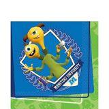 Serviettes de table Monsters University, paq. 16 | Disneynull