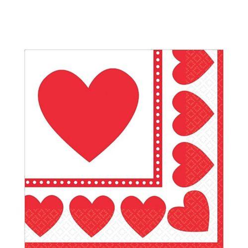 Sweet Love Valentine's Day Lunch Napkins, 16-pk