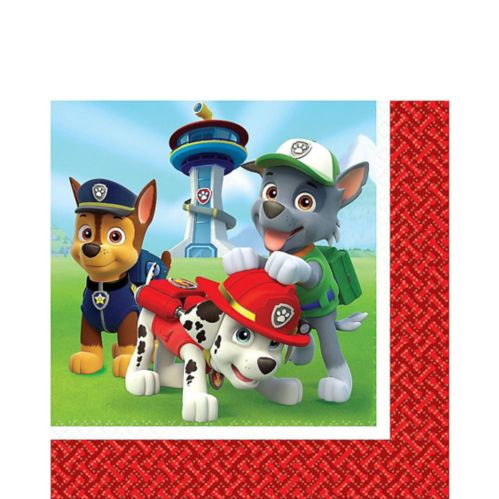 PAW Patrol Lunch Napkins, 16-pk Product image