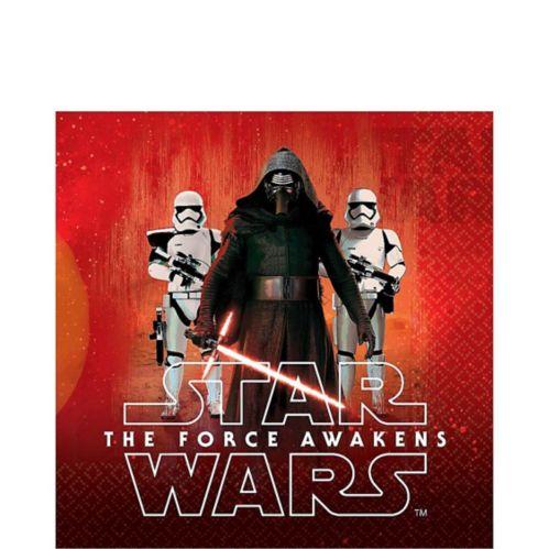 Serviettes de table Star Wars 7 : Le Réveil de la Force, paq. 16