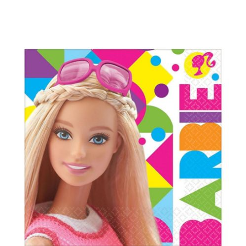 Barbie Lunch Napkins, 16-pk