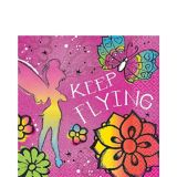 Keep Flying Tinker Bell Lunch Napkins, 16-pk