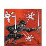 Ninja Zone Napkins, 16-pk