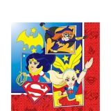 DC Super Hero Girls Lunch Napkins, 16-pk