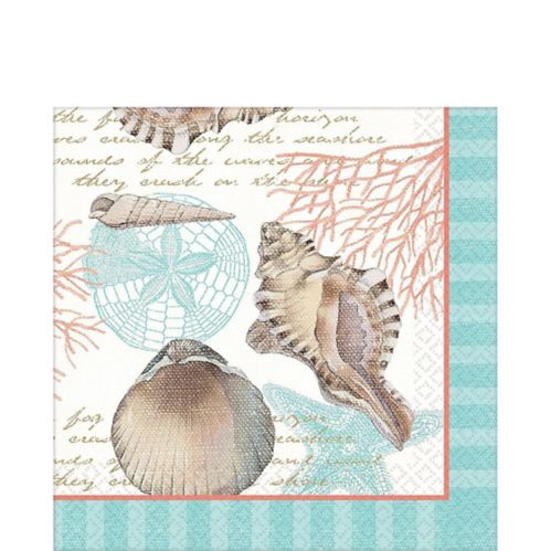 Eco Sea Napkins, 16-pk