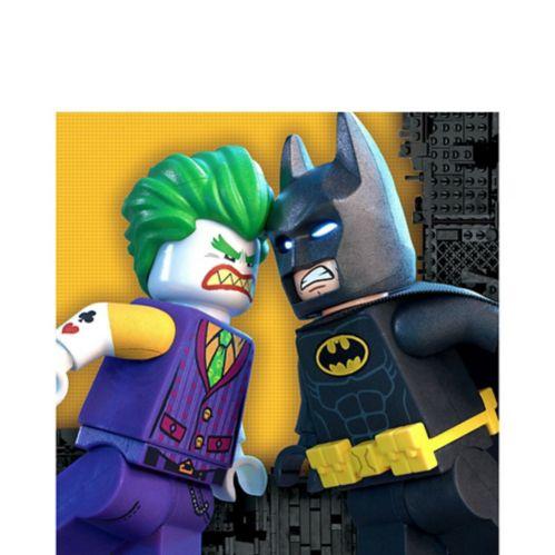 Lego Batman Movie Lunch Napkins, 16-pk