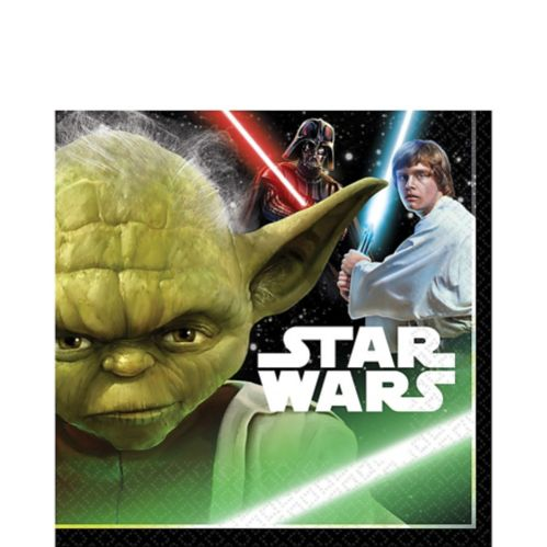 Star Wars Lunch Napkins, 16-pk