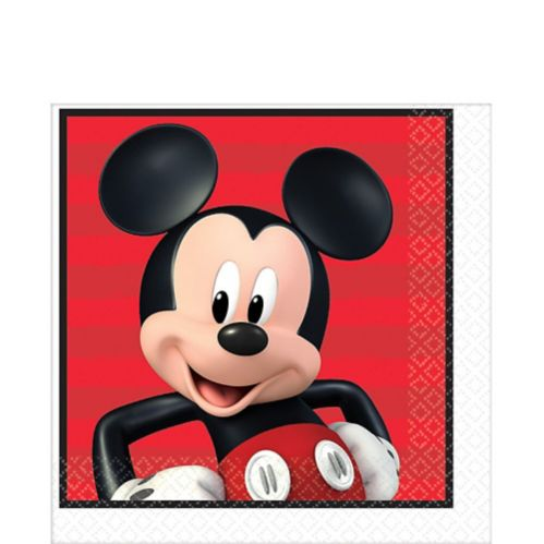 Serviettes de table Mickey Mouse, paq. 16