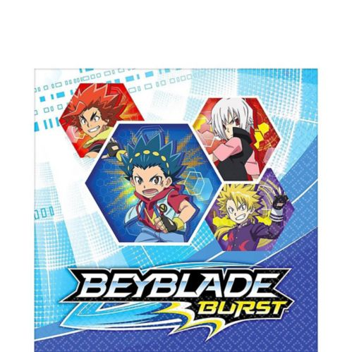 Beyblade Lunch Napkins, 16-pk
