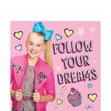 JoJo Siwa Lunch Napkins, 16-pk | Nickelodeonnull
