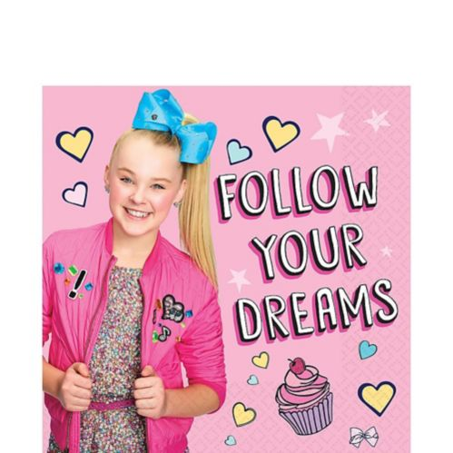 JoJo Siwa Lunch Napkins, 16-pk