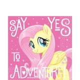 My Little Pony Fluttershy Lunch Napkins, 16-pk