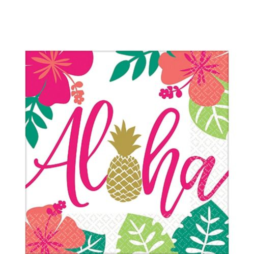 Serviettes de table You Had Me at Aloha, paq. 16