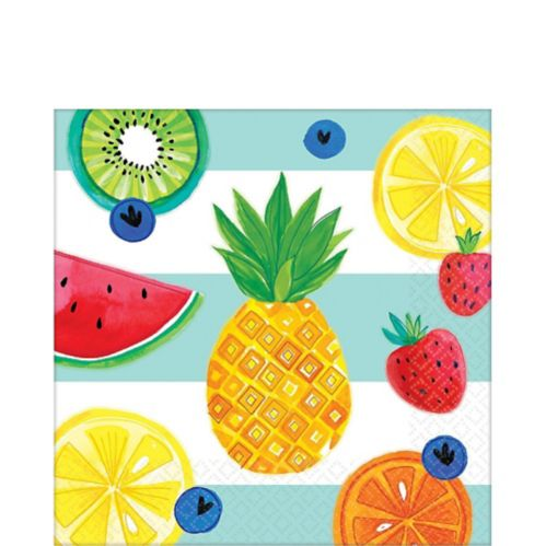 Hello Summer Lunch Napkins, 16-pk