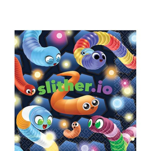 Slither.io Lunch Napkins, 16-pk