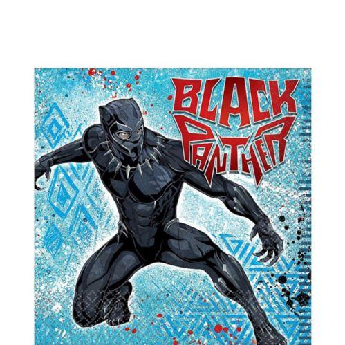Black Panther Lunch Napkins, 16-pk