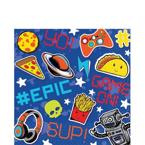 Epic Party Lunch Napkins, 16-pk