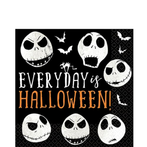 The Nightmare Before Christmas Lunch Napkins, 16-pk