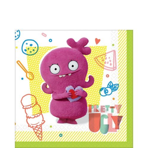 Serviettes de table UglyDolls, paq. 16 Image de l'article