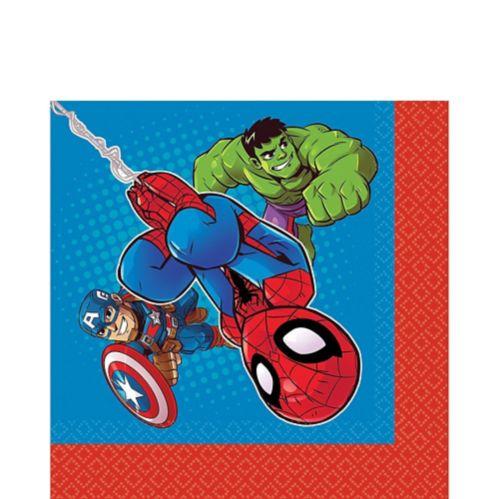 Marvel Super Hero Adventures Lunch Napkins, 16-pk
