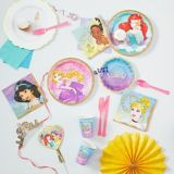 Serviettes de table Princesse Tiana, paq. 16