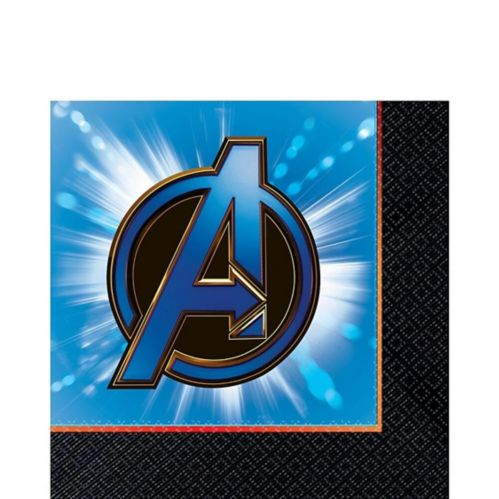 Serviettes de table Avengers : Phase finale, paq. 16
