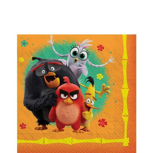 Angry Birds 2 Lunch Napkins, 16-pk