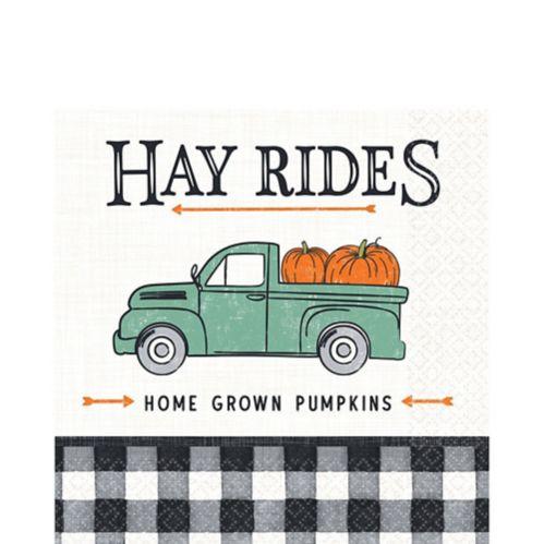 Harvest Fall Lunch Napkins, 16-pk