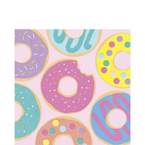 Donut Party Lunch Napkins, 16-pk Product image