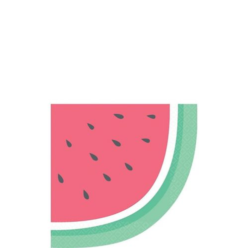 Just Chillin' Watermelon Lunch Napkins, 16-pk
