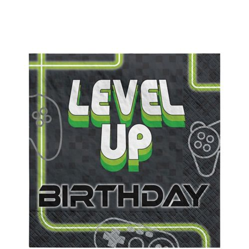 Level Up Lunch Napkins, 16-pk