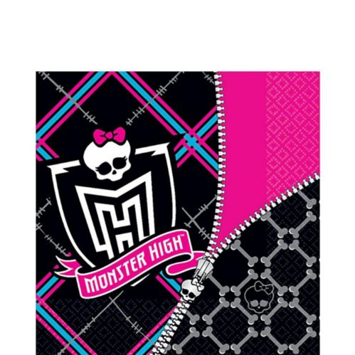 Monster High Lunch Napkins, 16-pk Product image