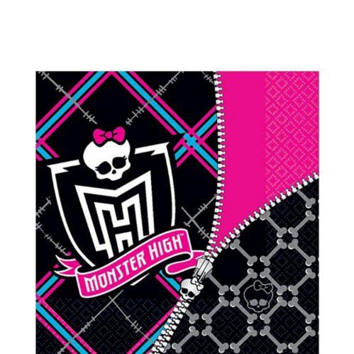 Monster High Lunch Napkins, 16-pk