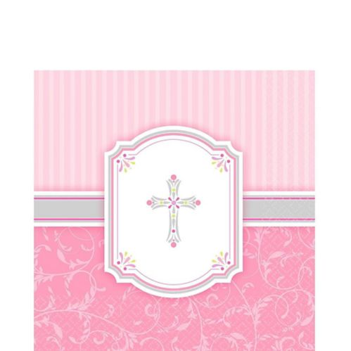 Communion Blessing Napkins, 16-pk