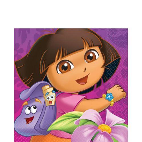 Serviettes de table Dora l'exploratrice