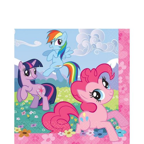 My Little Pony Lunch Napkins, 16-pk