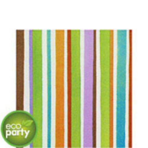 Crafty Stripe Lunch Napkins