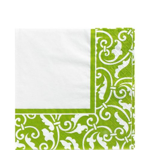 Kiwi Scroll Lunch Napkins, 16-pk