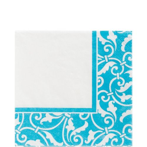 Caribbean Scroll Lunch Napkins, 16-pk