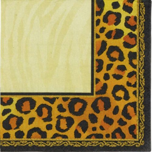 Safari Lunch Napkins, 16-pk