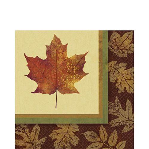 Serviettes de table Élégance d'automne, paq. 16