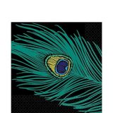 Peacock Plume Lunch Napkins