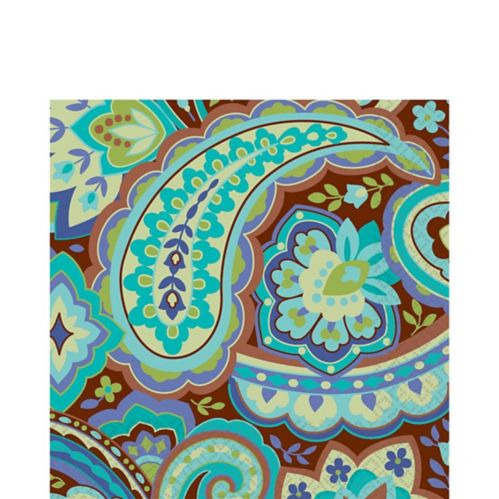 Serviettes de table Cool Paisley