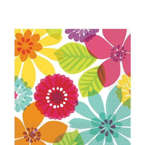 Day in Paradise Lunch Napkins, 16-pk