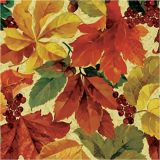 Elegant Leaves Lunch Napkins, 16-pk