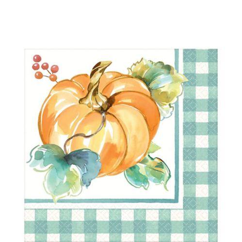 Serviettes de table Peinture d'automne, paq. 16