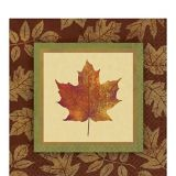 Fall Elegance Dinner Napkins, 16-pk