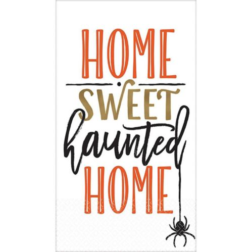 Haunted Home Guest Towels, 16-pk